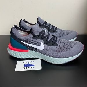 Nike Epic React Flyknit Mens Running Shoes Size 10